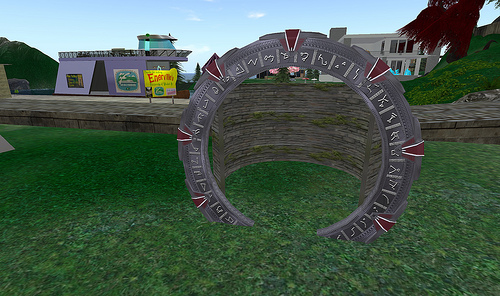 One of Micheil's Stargates in Enerville